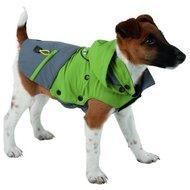 Kerbl Buitenjas voor Hond Vancouver Groen/Grijs 45cm