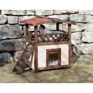Kerbl Cat House 4-seasons Deluxe 88x57x77cm