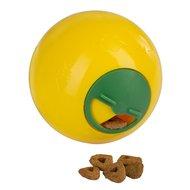 Kerbl Snackball für Katzen Gelb 7,5cm
