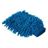Kerbl Poetshandschoen microvezel royal blauw 20x15cm