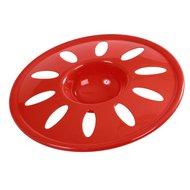 Kerbl Frisbee aus Kunststoff Rot 22cm