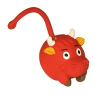 Kerbl Latex Racing Bull, Rot 9cm