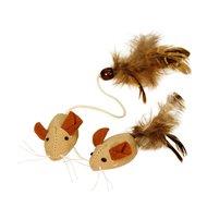 Kerbl Mäuse mit Federn NATURE 4,5cm