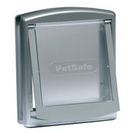 PetSafe Kattenluik S Zilver/Transparant 737SGIFD