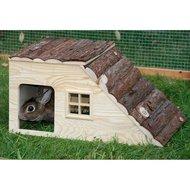 Kerbl Nature Plus Konijnenhuis met Oploop