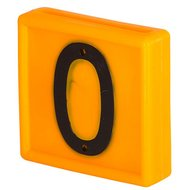 Kerbl Collar Number Blocks Yellow