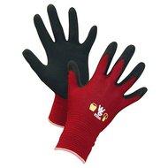 Kerbl Kinderhandschuhe TOWA Latex Coating 4-6 Jahre Rot