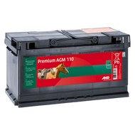 Ako Weidezaunbatterie Premium AGM 110Ah