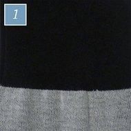 Kavalkade Kavalsocks thin zwart-grijs