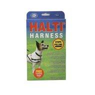 Halti Harnas Hond Rood/Zwart