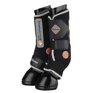 LeMieux Leg Protectors Magnetic Therapy Black