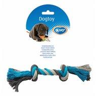 Duvo+ Dogtoy Knoop Katoen Blauw/Grijs