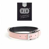 Duvo+ Chic Kunstleer Halsband Roze