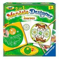 2 in 1 Mandala Designer Paarden