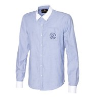Mountain Horse Blouse Competition Shirt Chambray Blue