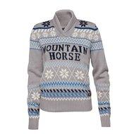 Mountain Horse Trui Iris Knitted Sweater Brilliant Grijs