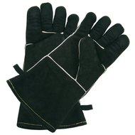 Outdoorchef Lederen barbecuehandschoen (paar), zwart L