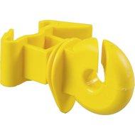 Patura Ringisolator für T-Pfosten Gelb 25 St