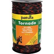 Patura Tornado Cord Bruin/Oranje 200m