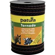 Patura Tornado Lint 12,5mm Bruin/Oranje 200m
