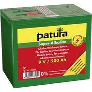 Patura Super Alkaline Batterij 9v/200ah