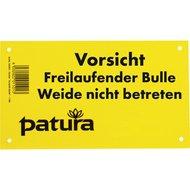 Patura Waarschuwingsbord Verboden Voeren Duits