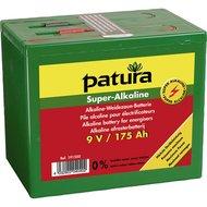 Patura Super Alkaline Batterij 9v/175ah