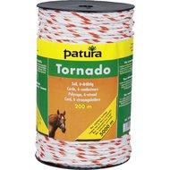 Patura Tornado Cord Wit/Oranje 200m