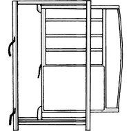 Patura Frame voor Schuifdeur 0,9x1,95m
