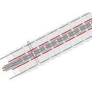 Patura Tornado Lint 20mm Wit/Oranje 400m