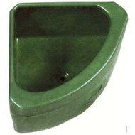 Pfiff Kunststofftrog für Eckmontage 36L Grün
