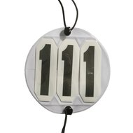 Pfiff Interchangeable Round Competition Numbers White