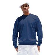 Pfiff Sweatshirt Einfarbig Blau