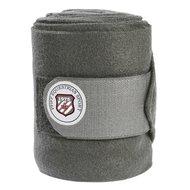 Pfiff Fleecebandages met Logo Grijs