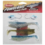 Berkley Aas Powerbait Pro Pack Seabass Attraction XL