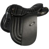 Pfiff Icelandic Saddle Ribbed Seat Black 180