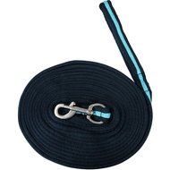 Pfiff Soft Lunge Rein Blue Turquoise 820