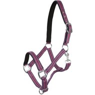 Pfiff Padded Synth. Halter Bordeaux Pink Grey