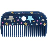 Pfiff Mane Comb Magical Stars Blue