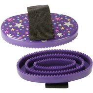 Pfiff Plastic Curry Comb Magical Stars Purple