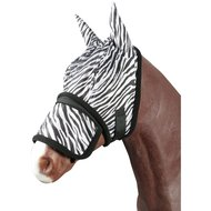 Pfiff Vliegenmasker Zebra Zwart/Wit Cob