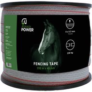 Ako Fencing Tape Topline Plus White 40mm 200m
