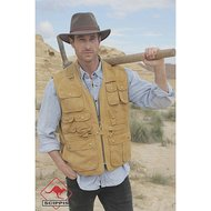 Scippis Canvas Vest Murray Tobacco