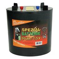 Ako Trockenbatterie rund Schwarz 90Ah 7,5V