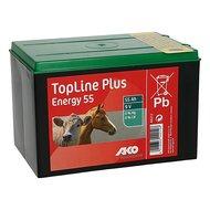Ako Batterie TopLine Plus Energy 55 Schwarz 55Ah-9V