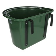 Kerbl Turnier-Futterkrippe Einhängebügel Tragegriff Grün