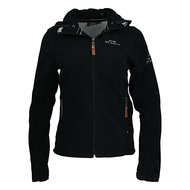 HV Polo Jacket Clarinda Fleece Black