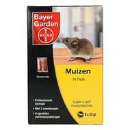 Bayer SuperCaid muizenkorrels 8x25g