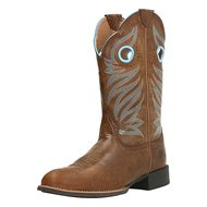 Ariat Western Round Up Stockman B Wood