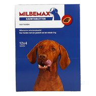Milbemax Hond Groot Chewy 48 Tabl. 5-75kg